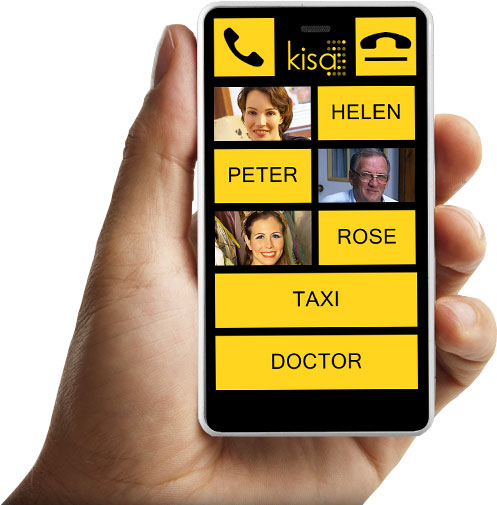 Your own personal KISA phone made just for you