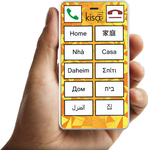 Multilingual KISA phone
