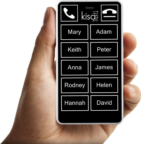 Braille KISA phone